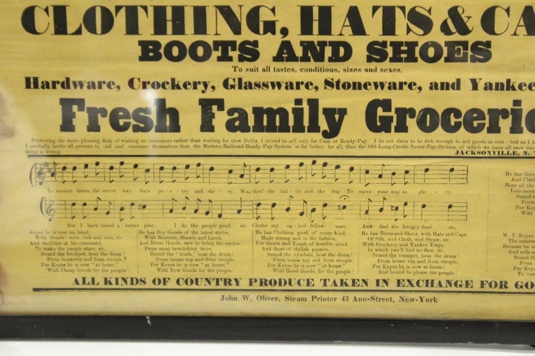 1860 Cheap Cash Store antique W T KEYES - 2