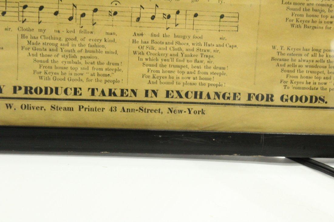 1860 Cheap Cash Store antique W T KEYES - 5