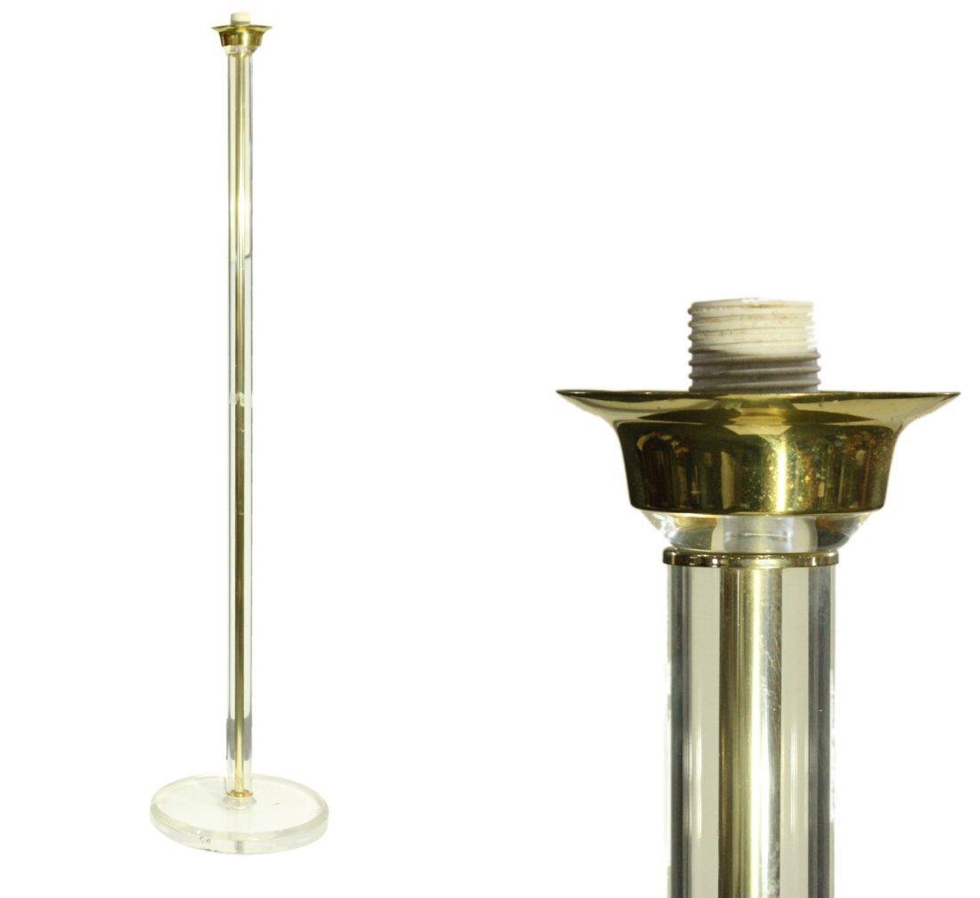 Lucite floor lamp Mid-century style