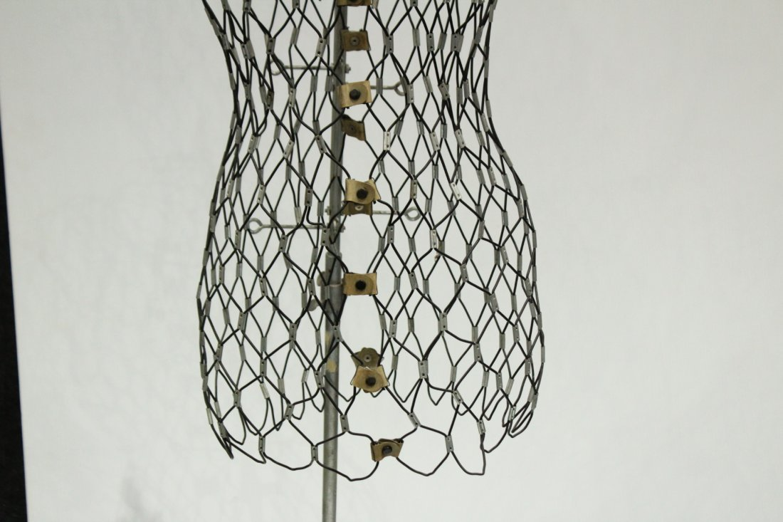 vintage female wire frame mannequin - 3