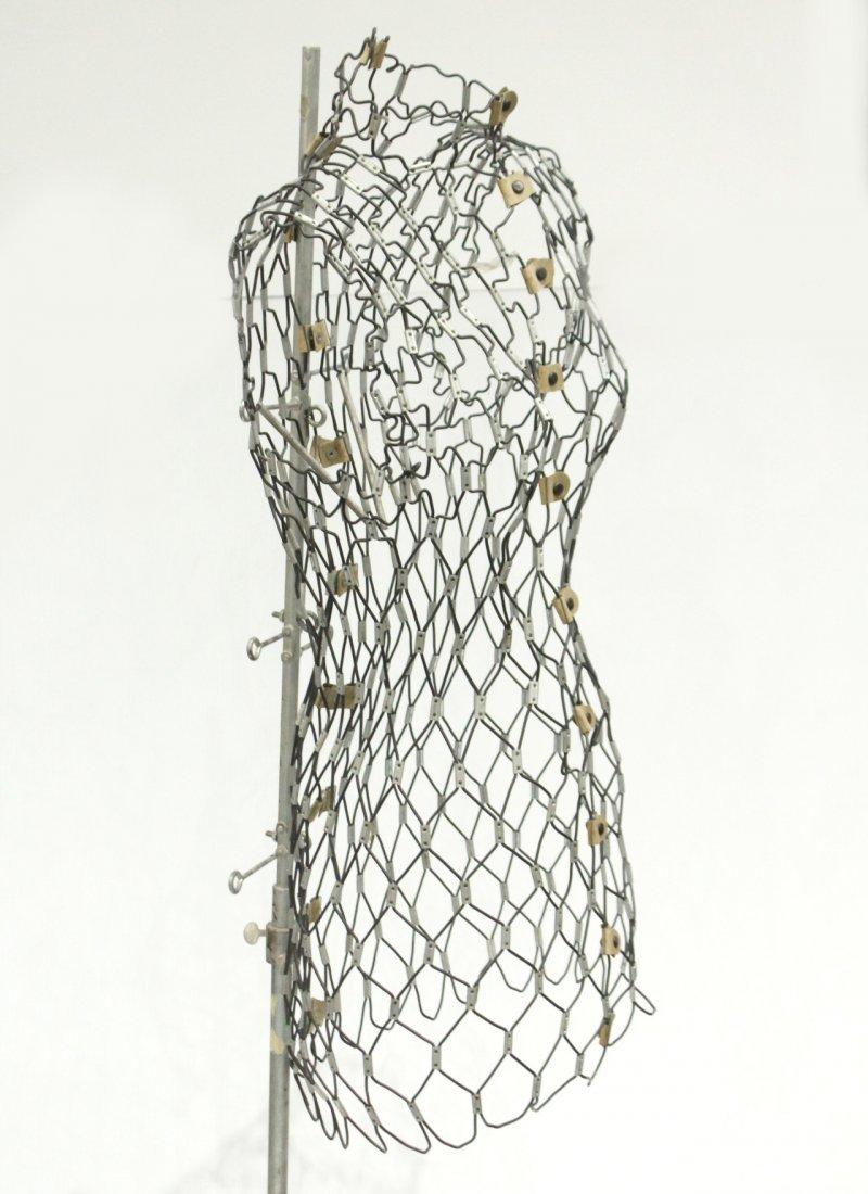 vintage female wire frame mannequin - 4