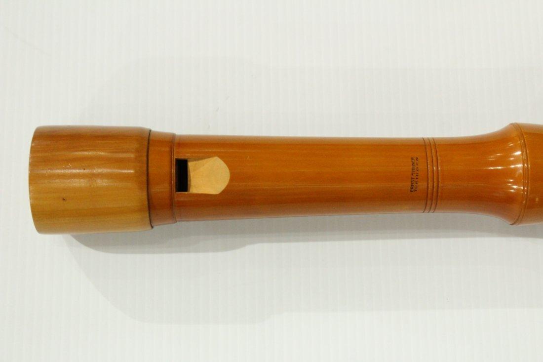 Vintage Ernst Stieber tubingen bass recorder - 2