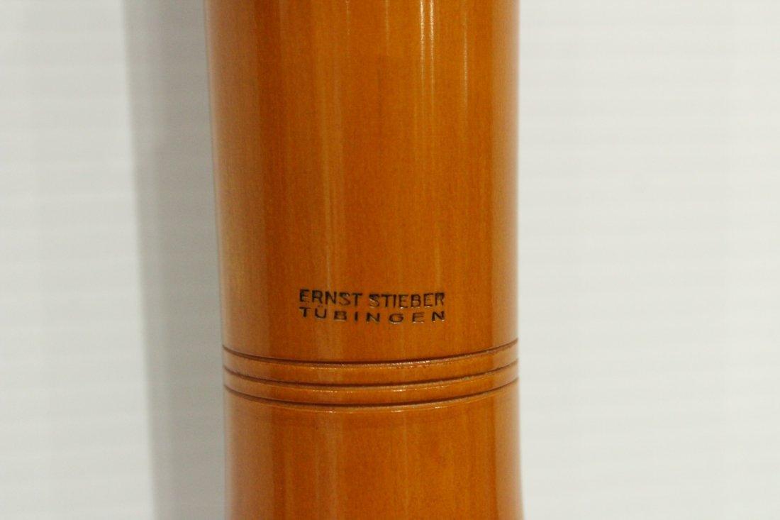 Vintage Ernst Stieber tubingen bass recorder - 3