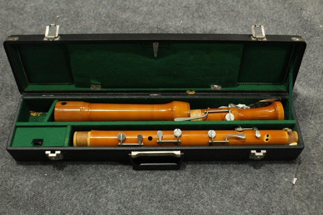 Vintage Ernst Stieber tubingen bass recorder - 6