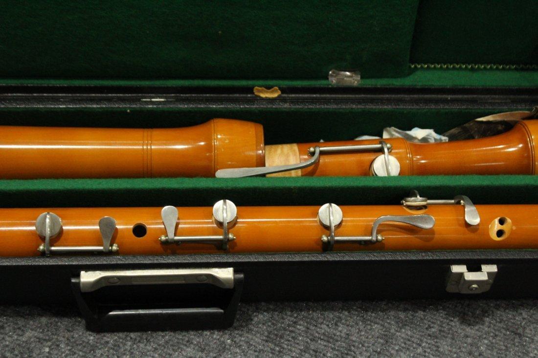 Vintage Ernst Stieber tubingen bass recorder - 7