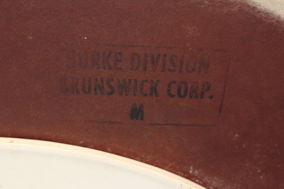 BURKE White TULIP BASE DINING TABLE 36 Inch Diameter - 3