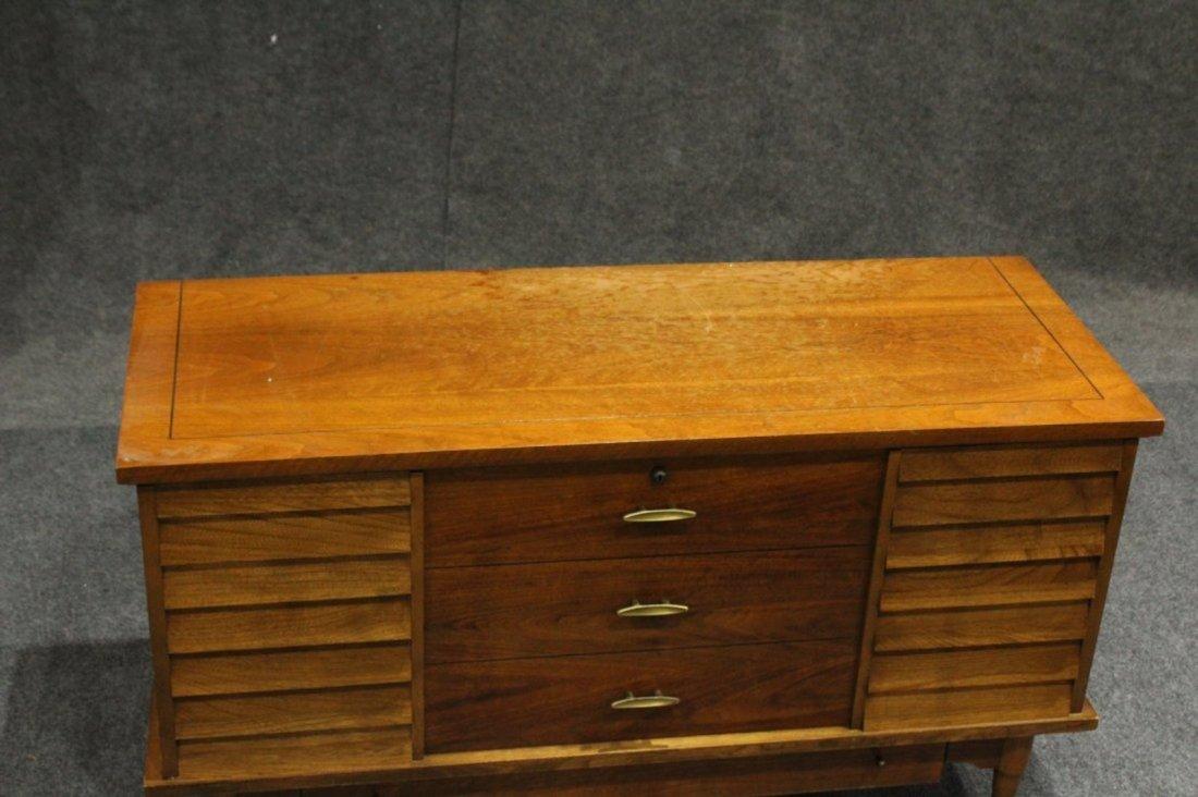 Lane Mid-Century Modern Cedar Chest Stylish Drawer Base - 2
