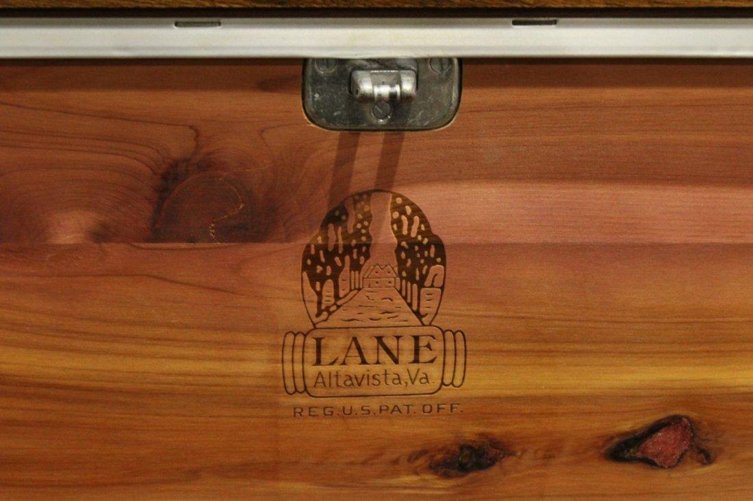 Lane Mid-Century Modern Cedar Chest Stylish Drawer Base - 3
