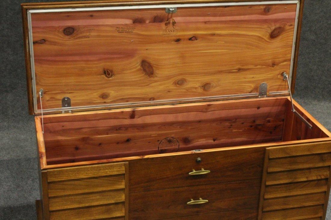 Lane Mid-Century Modern Cedar Chest Stylish Drawer Base - 4
