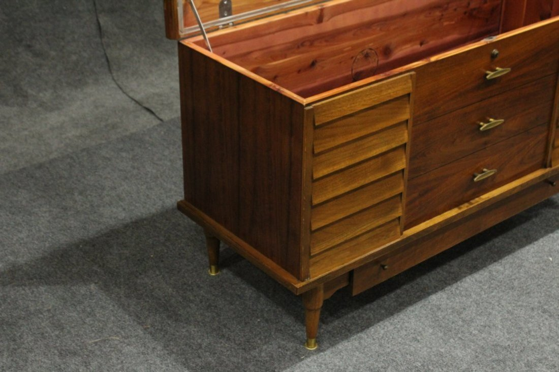 Lane Mid-Century Modern Cedar Chest Stylish Drawer Base - 5