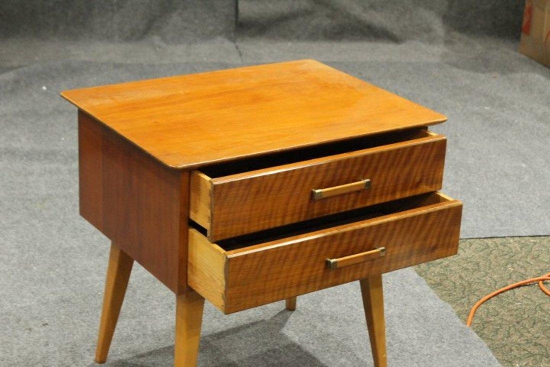 Johnson Furniture Co. Mid-Century Modern 2-Drawer Stand - 4