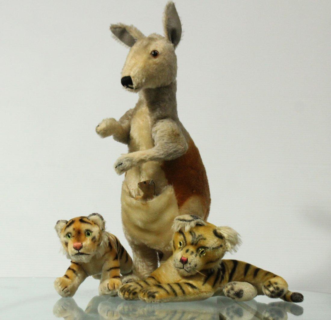 Vintage Steiff stuff animals
