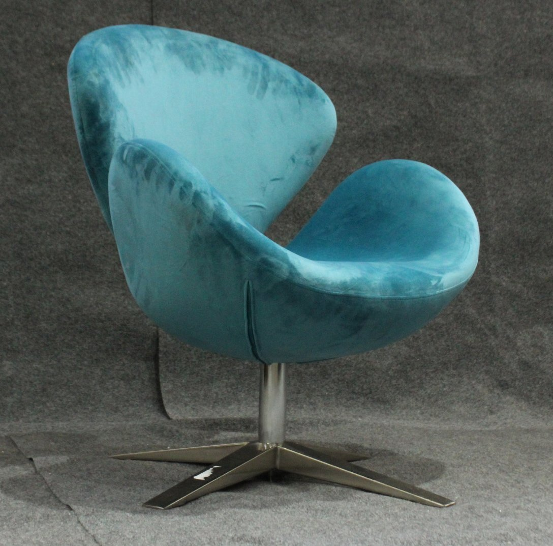 ARNE JACOBSEN DANISH SWIVEL SWAN CHAIR - Later Version