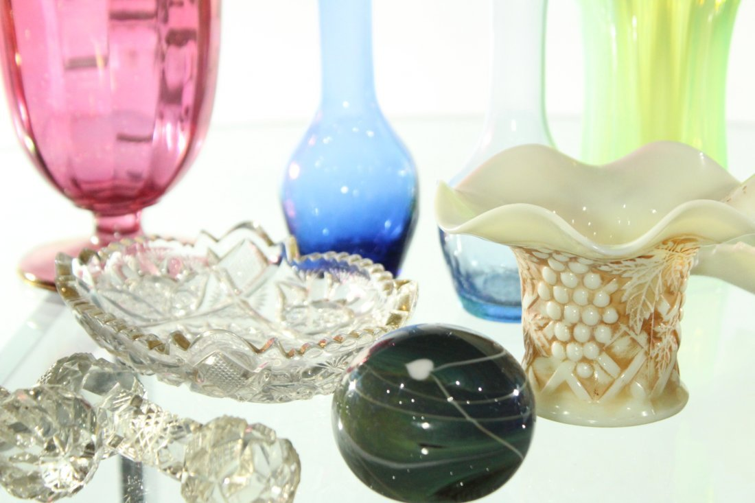 Lot of 14x assorted glass items - 3