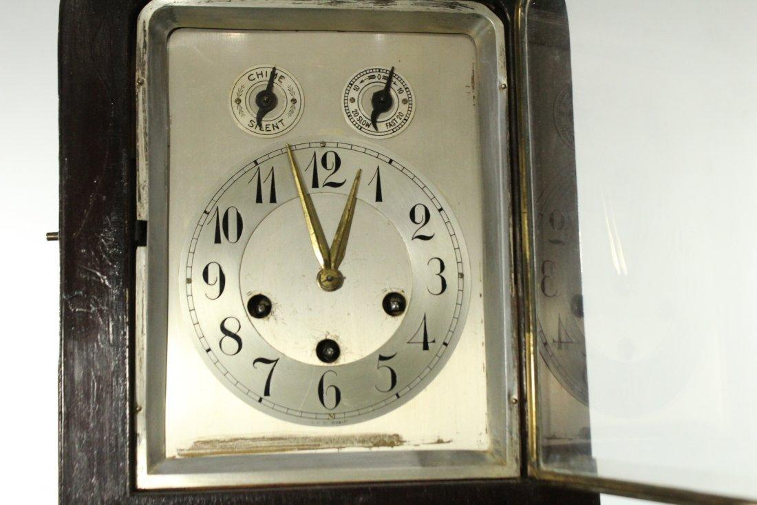 Junghans art deco mantel clock 1912 - 2
