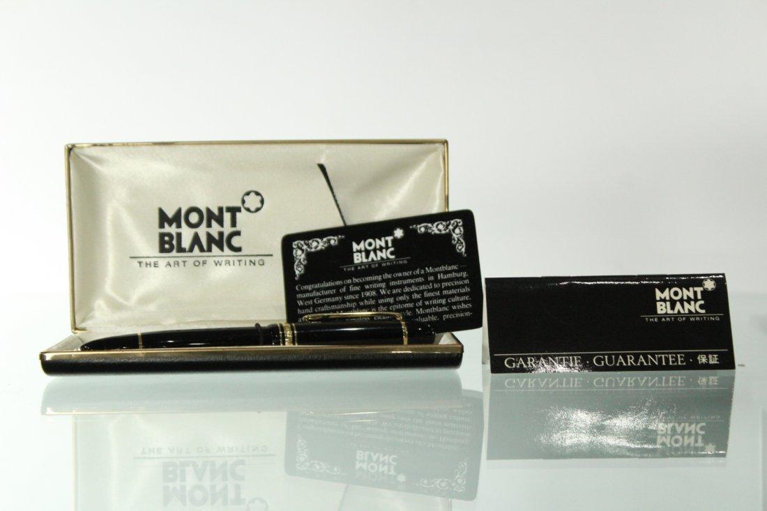 Mont Blanc Meisterstuck no 149 14k gold fountain pen