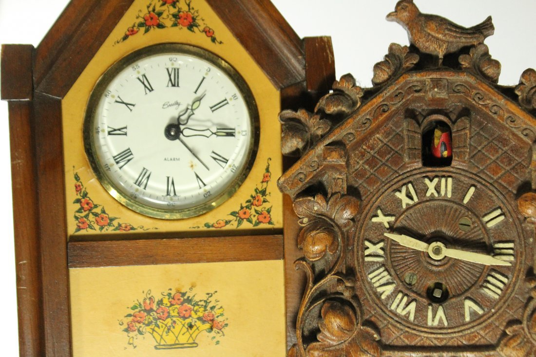 Collection of assorted clocks - 7