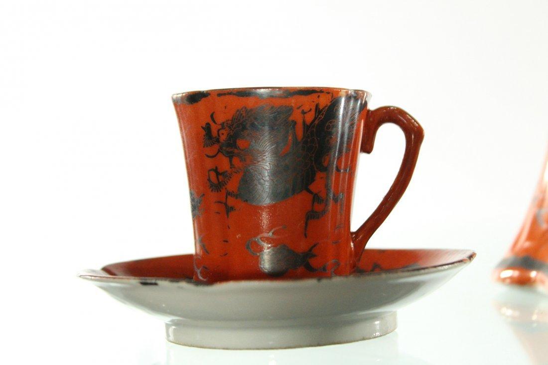 Vintage Japanese tea set, sighed - 3