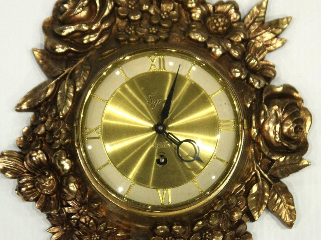 Syroco 8 day cartel clock - 3