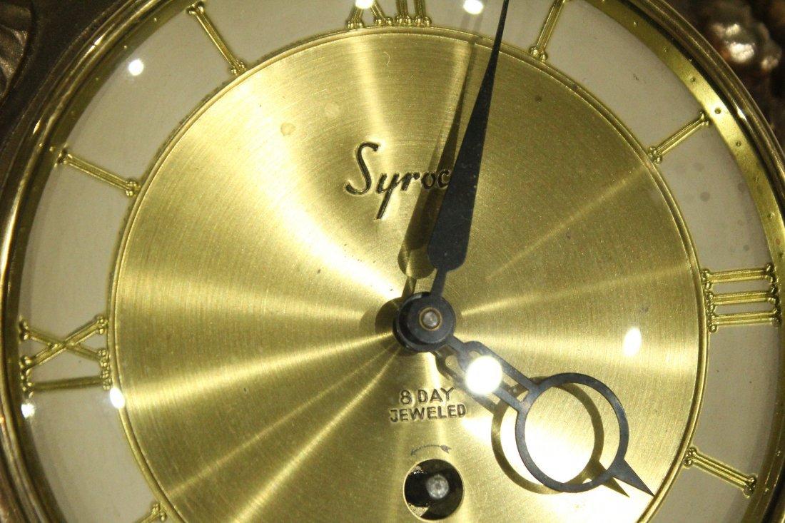 Syroco 8 day cartel clock - 4