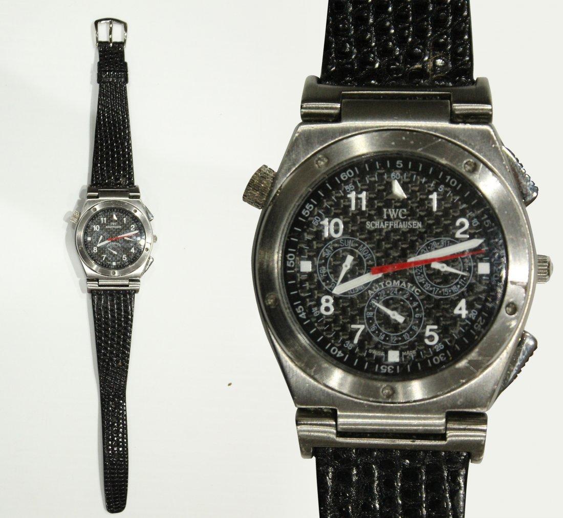 Luxury Swiss Schaffhausen Speidel IWC watch