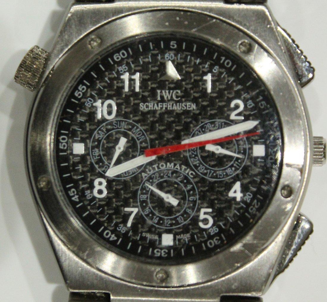 Luxury Swiss Schaffhausen Speidel IWC watch - 2
