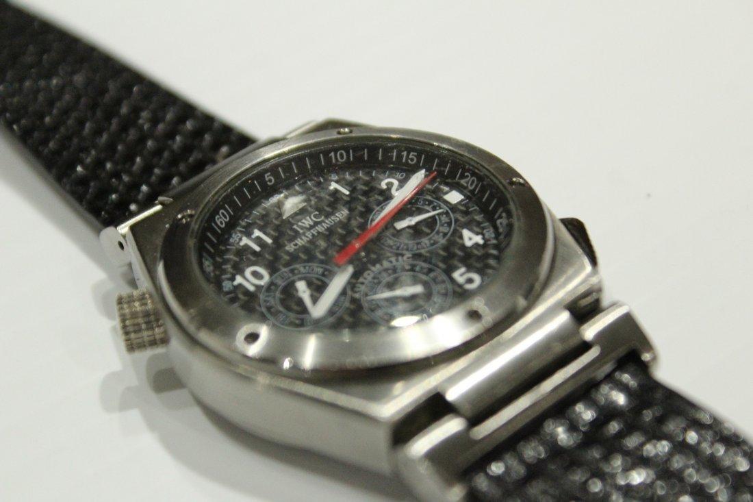 Luxury Swiss Schaffhausen Speidel IWC watch - 3