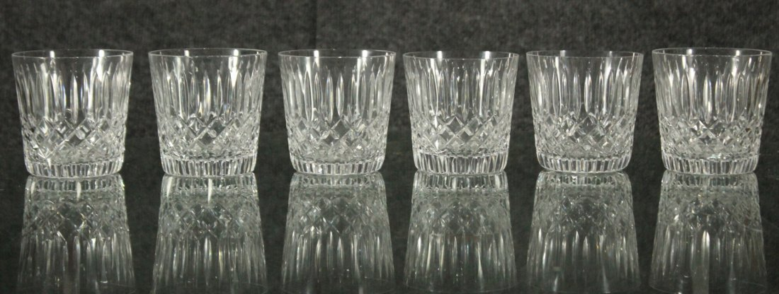 Signed Cut glass Goblets