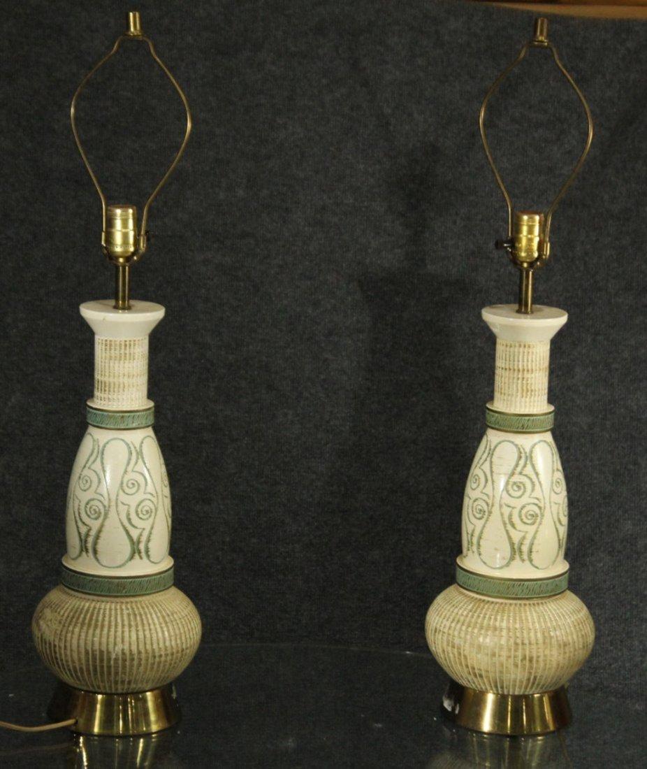 Mid century modern decorative lamps