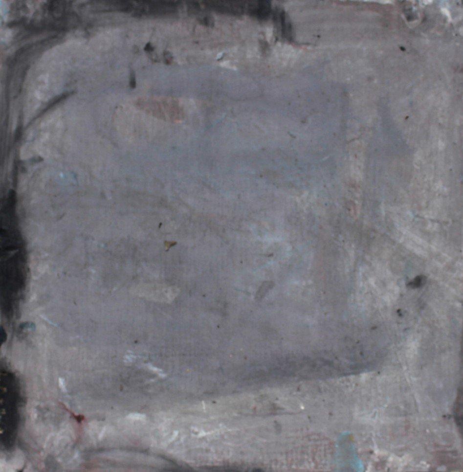 FRANZ KLINE attributed Mid Century Modern Abstract Oil. - 3