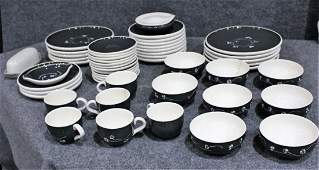 84 Pieces HARKERWARE By RUSSEL WRIGHT Mid-Century Mod