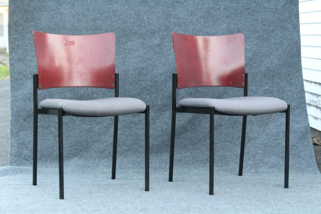 Four [4] SET Mid-Century Design SIDE CHAIRS / DINING - 2
