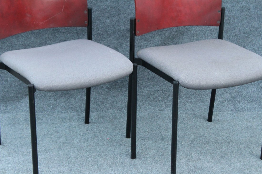 Four [4] SET Mid-Century Design SIDE CHAIRS / DINING - 3