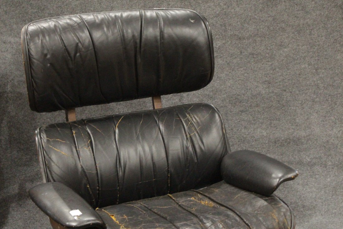 HERMAN MILLER - EAMES STYLE Lounge Chair With Ottoman - 3