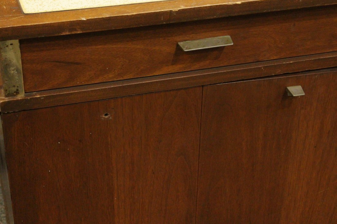 Mid-Century DANISH DESIGN TEAK WOOD SERVING CABINET - 2