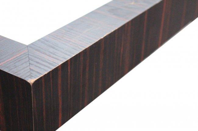 MILO BAUGHMAN Flat Bar Chrome, Rosewood, COFFEE TABLE - 3