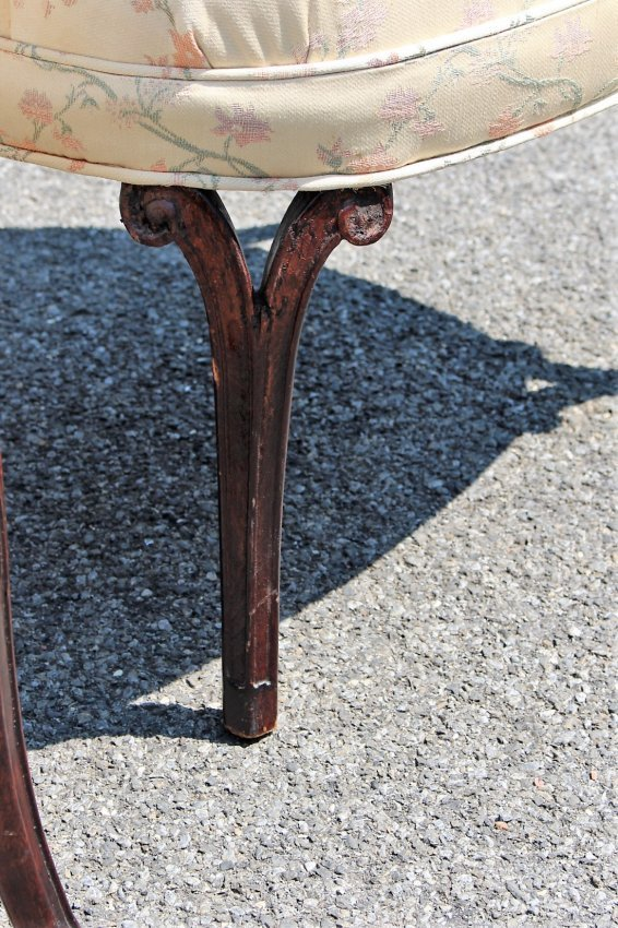 Pair HOLLYWOOD REGENCY TALL BACK DESIGNER CHAIRS - 5