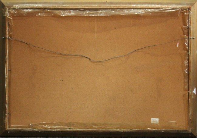 MORRIS KATZ 1969 Listed Jewish American LANDSCAPE Oil/B - 4