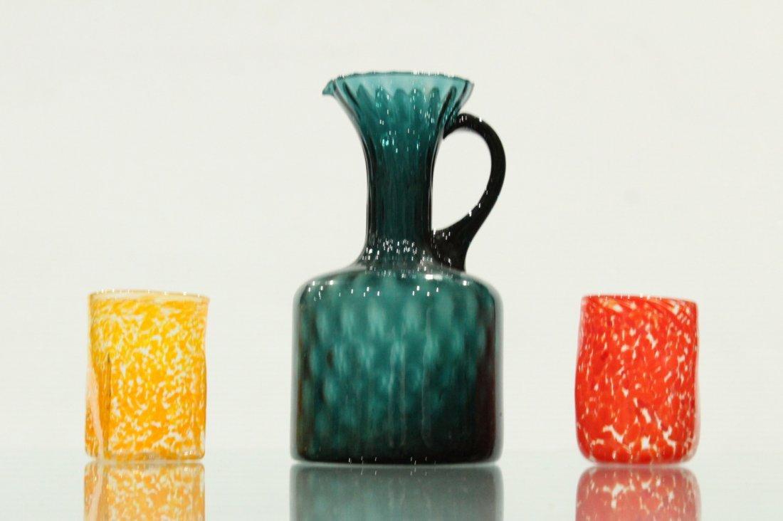 Three [3] Piece ITALIAN ART GLASS Grouping