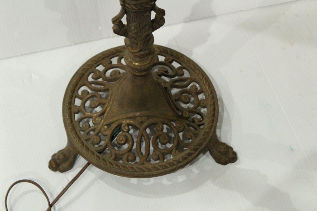 OSCAR BACH Style Arts & Crafts POLE FLOOR LAMP - 4
