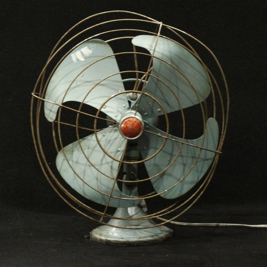 vintage GE electric fan