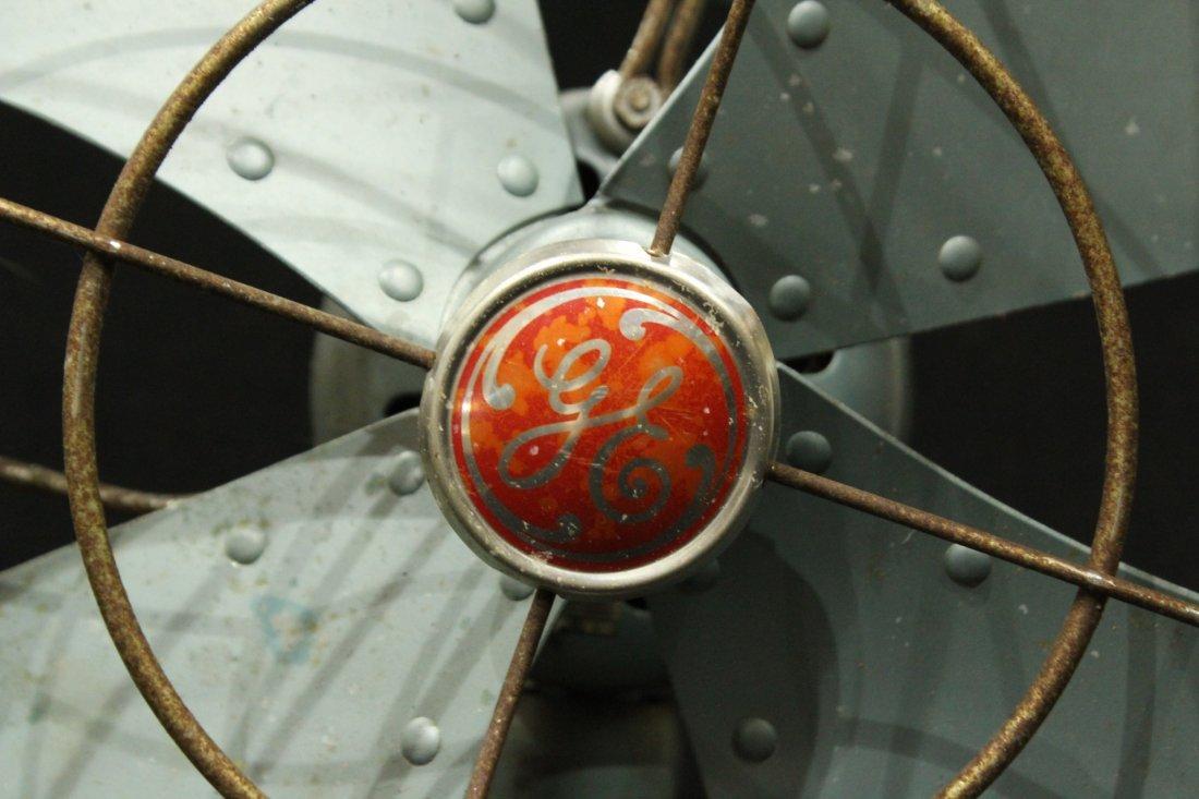 vintage GE electric fan - 2
