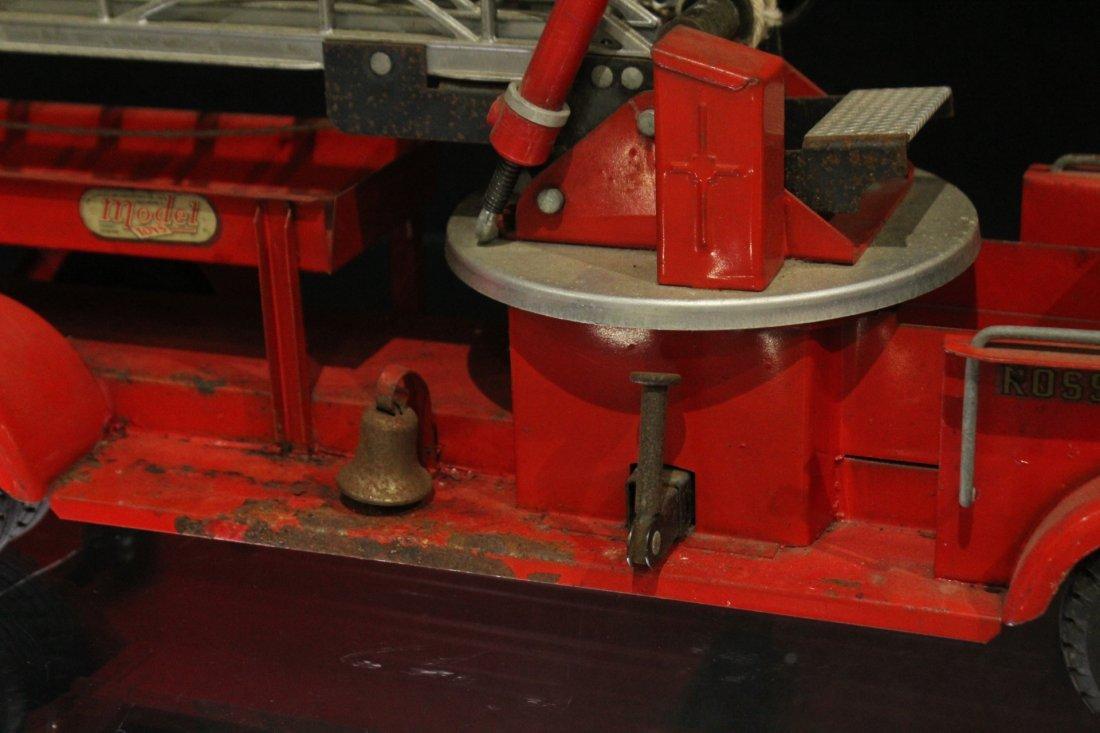 MODEL TOYS ROSSMOYNE Fireman Hook And Ladder Truck - 10