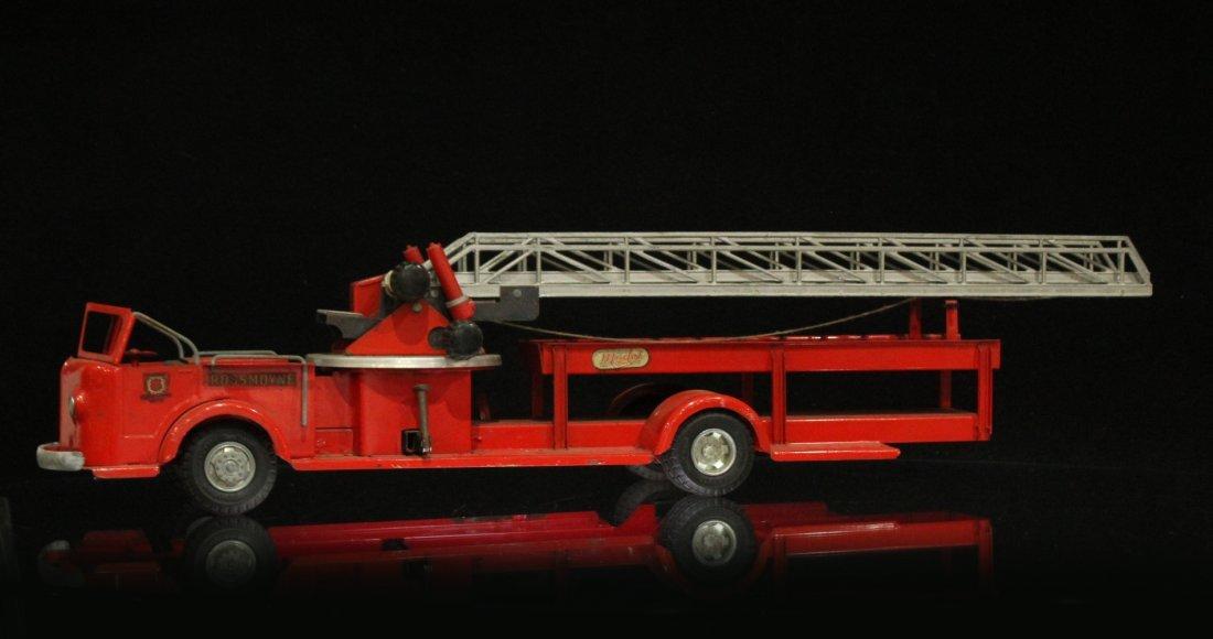 MODEL TOYS ROSSMOYNE Fireman Hook And Ladder Truck