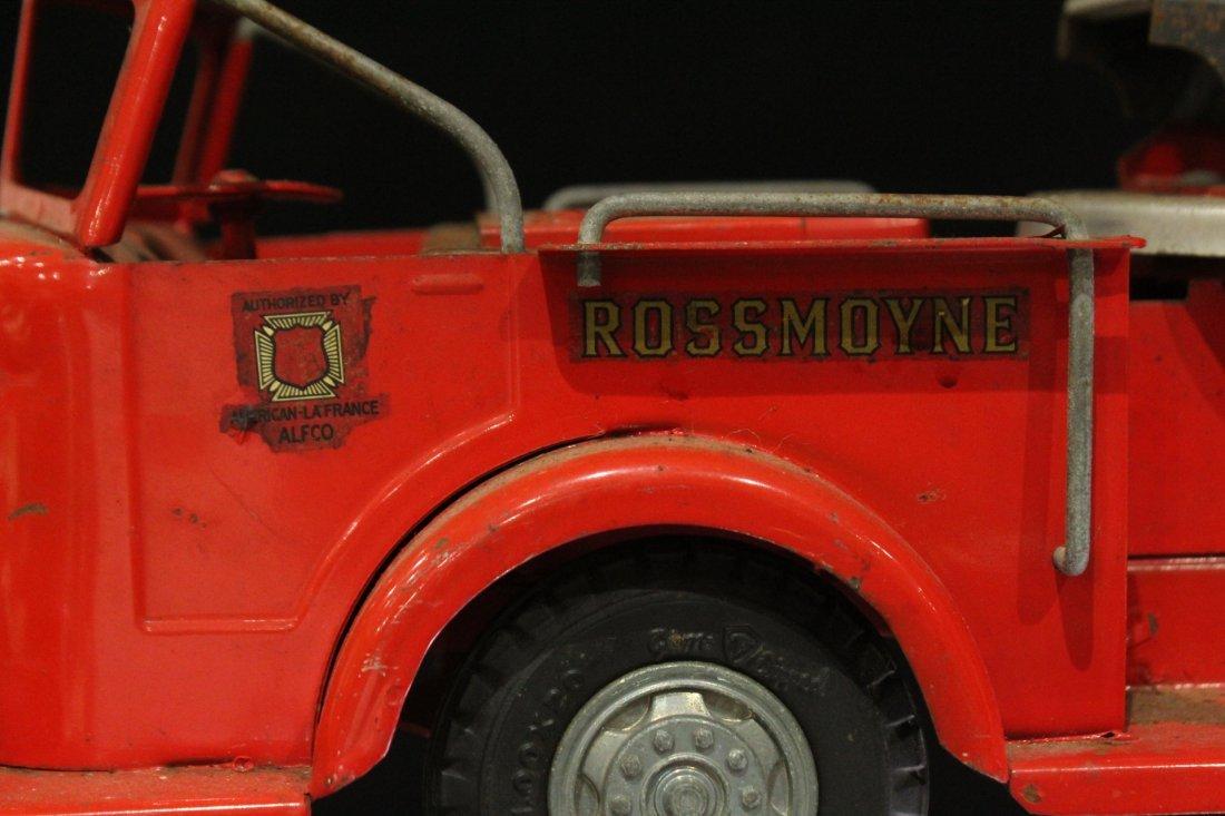 MODEL TOYS ROSSMOYNE Fireman Hook And Ladder Truck - 4