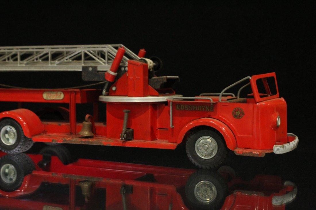 MODEL TOYS ROSSMOYNE Fireman Hook And Ladder Truck - 8