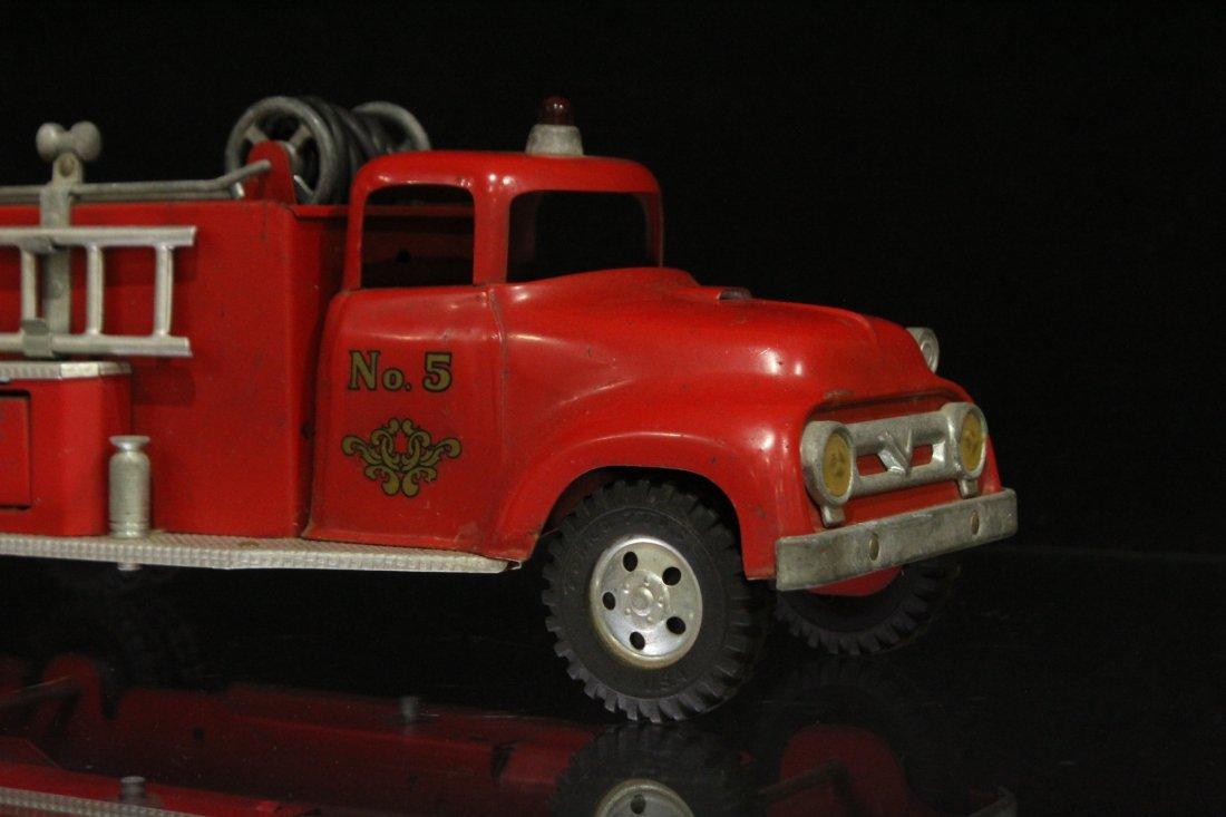 Vintage TONKA TOYS Fireman Pumper Truck #5 - 2