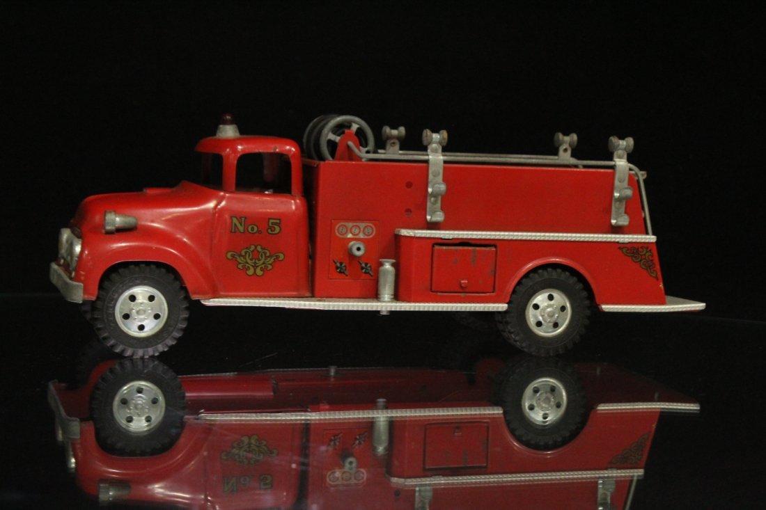 Vintage TONKA TOYS Fireman Pumper Truck #5 - 4