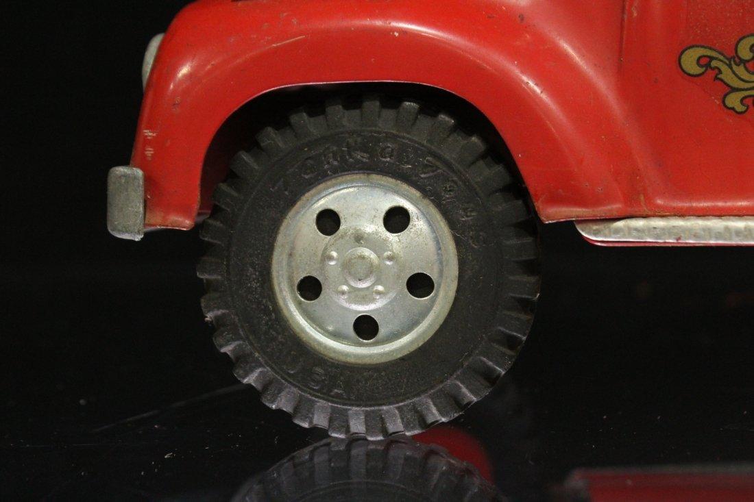 Vintage TONKA TOYS Fireman Pumper Truck #5 - 6