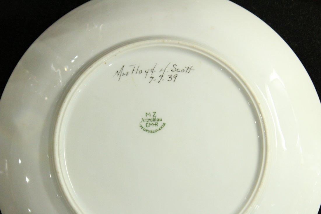 Six [6] PMR BAVARIA Jaeger & Co. Mid-Century Plates - 3